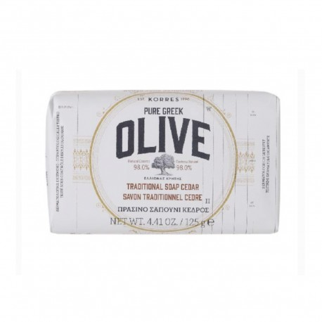 OLIVE Cedar bar soap 125gr